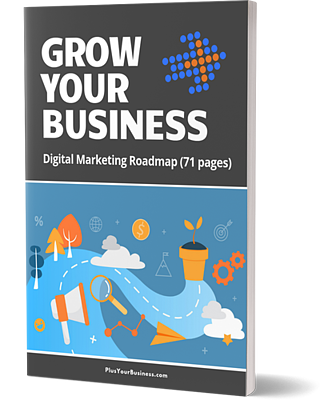 Grow Your Business - Digital Marketing Roadmap cover