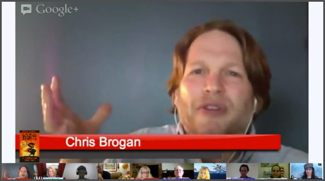 Chris Brogan Hangout
