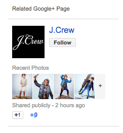 Gmail Google+ Integration