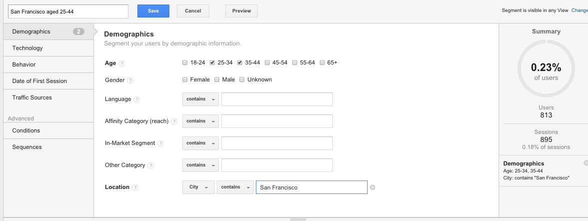 How to add segments in Google Analytics 4