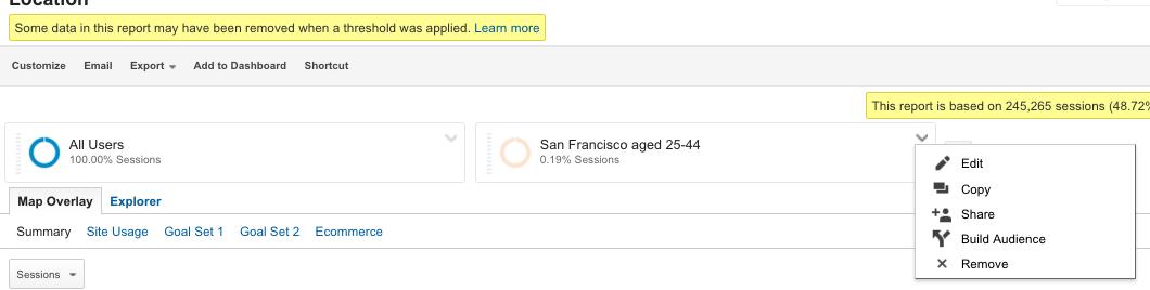 How to add segments in Google Analytics 7