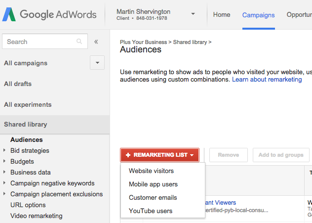 How to remarket to your youtube audience 2
