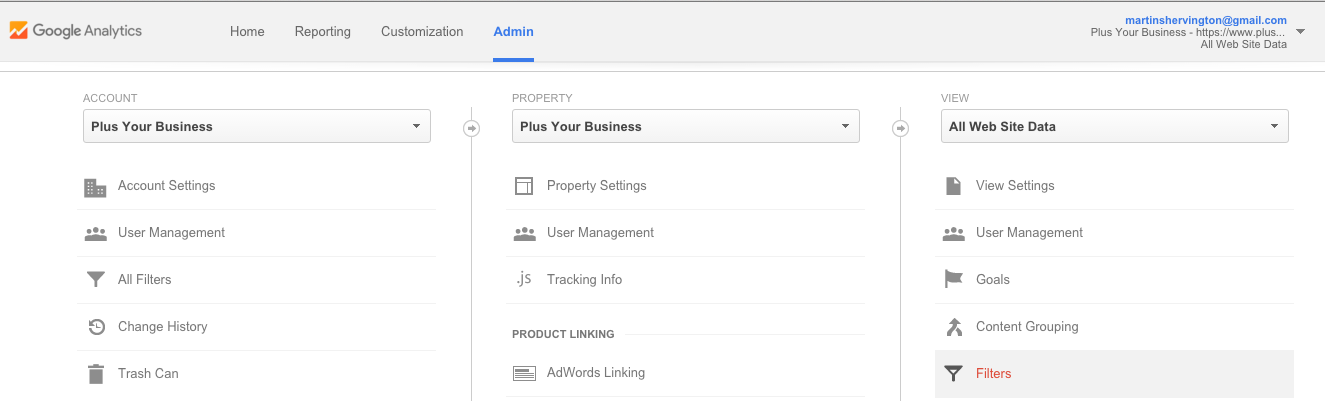How to setup Google Analytics 17