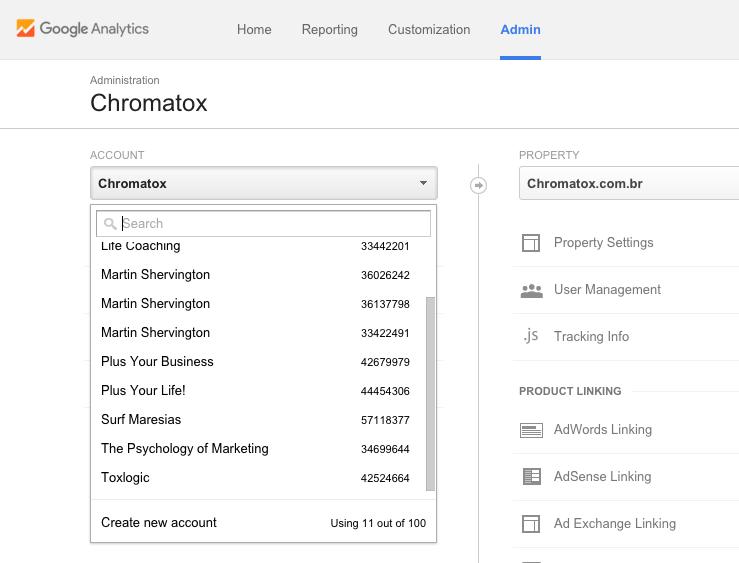 How to setup Google Analytics 2