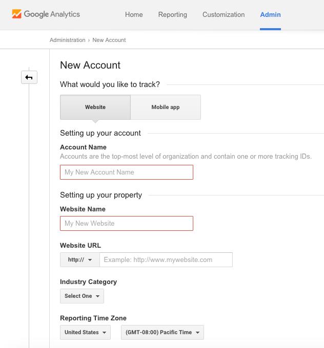 How to setup Google Analytics 3