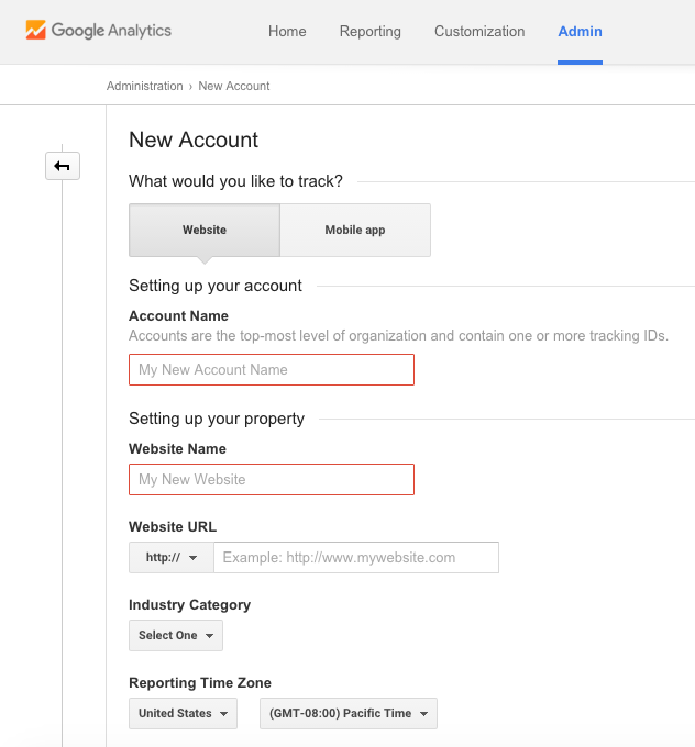 How to setup Google Analytics 3