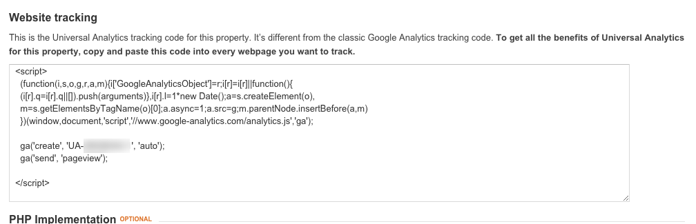 How to setup Google Analytics 5