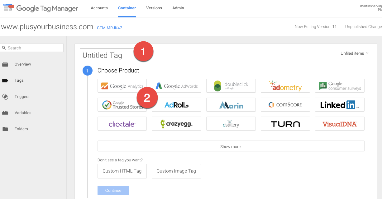 How to setup Google Analytics 8