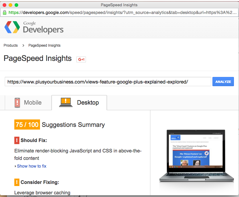 How to use Google Analytics Site Speed Report 8