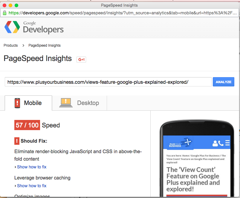How to use Google Analytics Site Speed Report 9