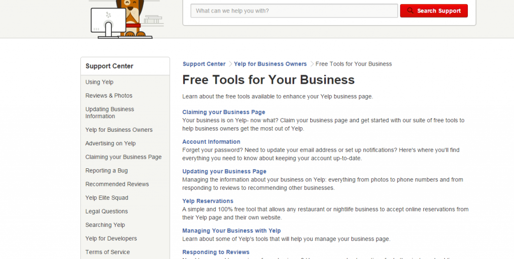 Quick Guide to using 'Yelp for Business'