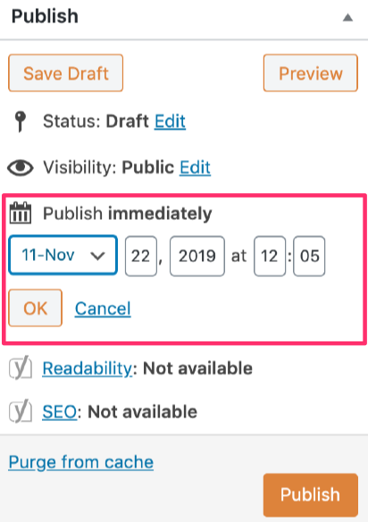 scheduling-a-blog-post-in-wordpress