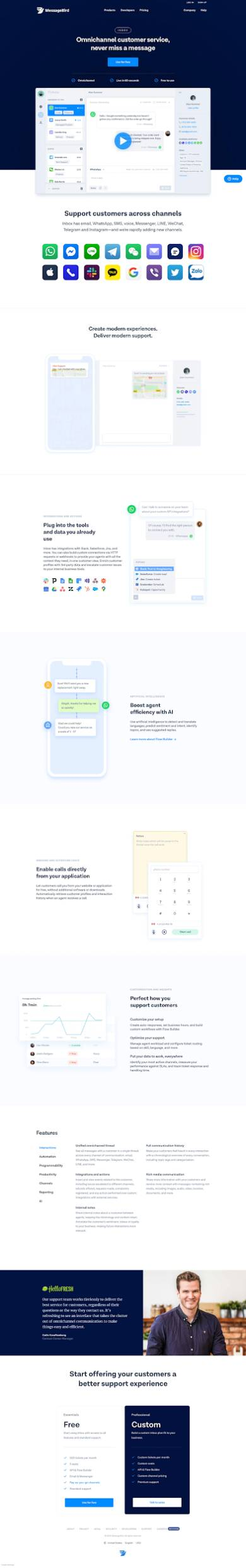 visuals in landing pages 4