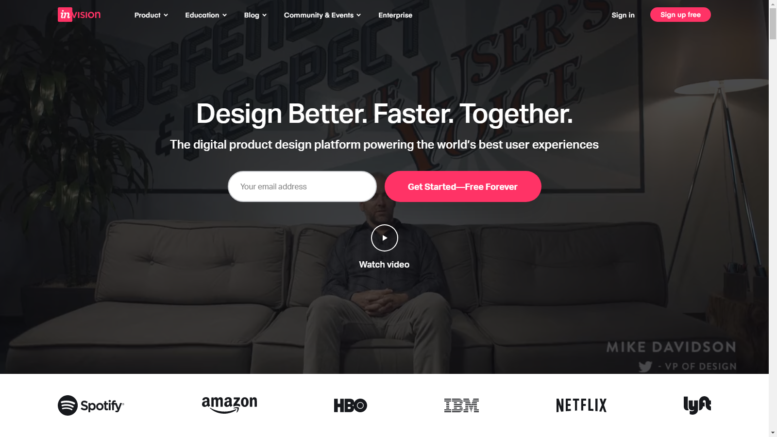 visuals in landing pages 5