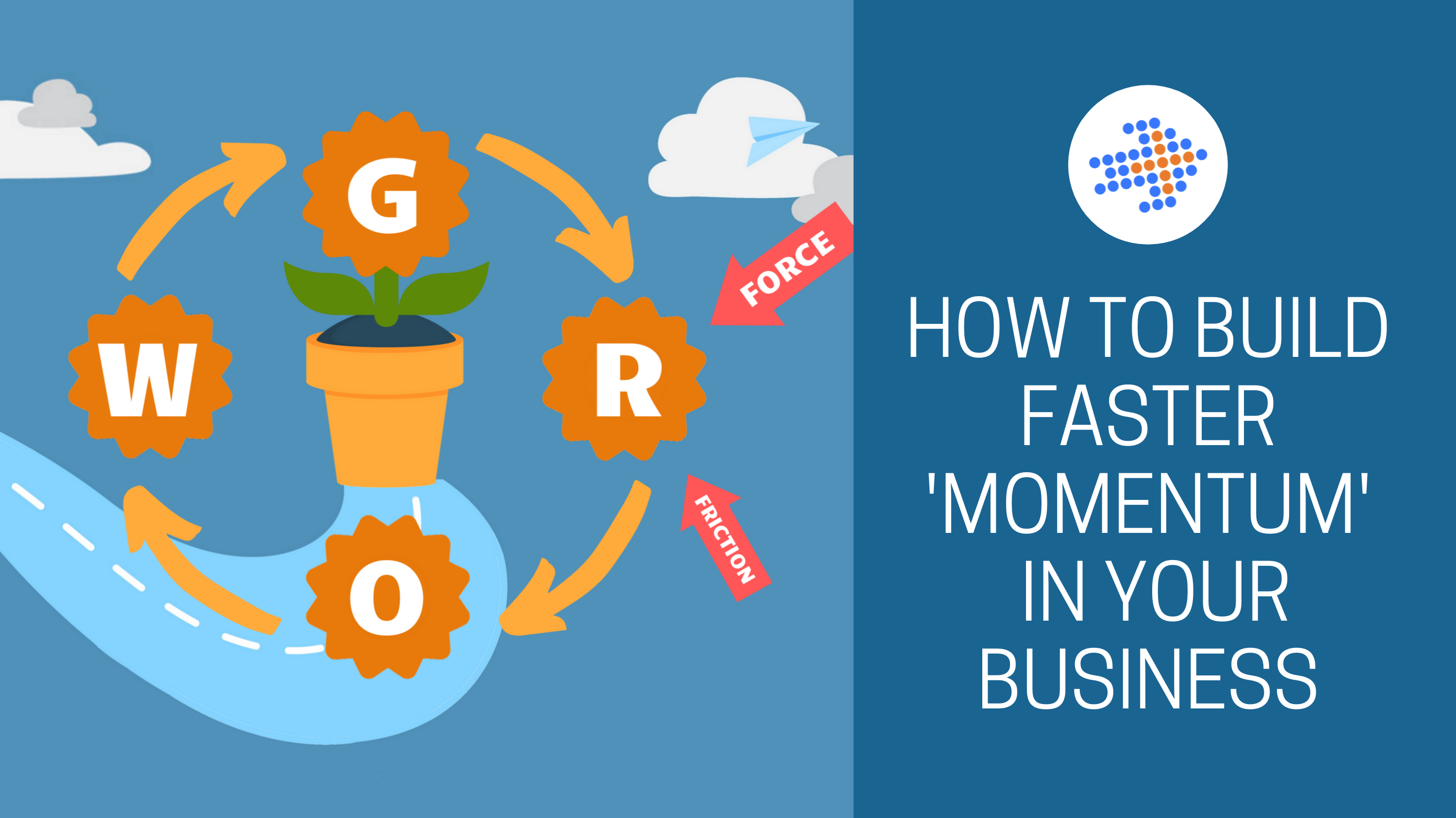 HOW TO BUILD FASTER MOMENTUM  IN YOUR BUSINESS